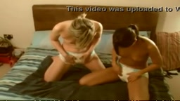 Diaper Girl Wet Together
